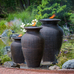 Rippled Urn Fountain - Large