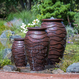 Scalloped Urn Fountain - Large