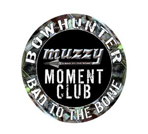 Muzzy Moment Window Decal picture