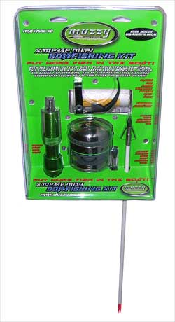 XTREME DUTY SPINCAST SYTLE BOWFISHING KIT 