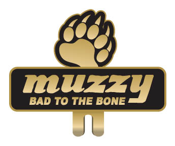 Muzzy Bear Track Hat Clip picture