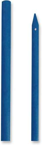 Blue Fiberglass Shaft 32&quot; (bare w/cross hole drilled & nock end tapered) picture