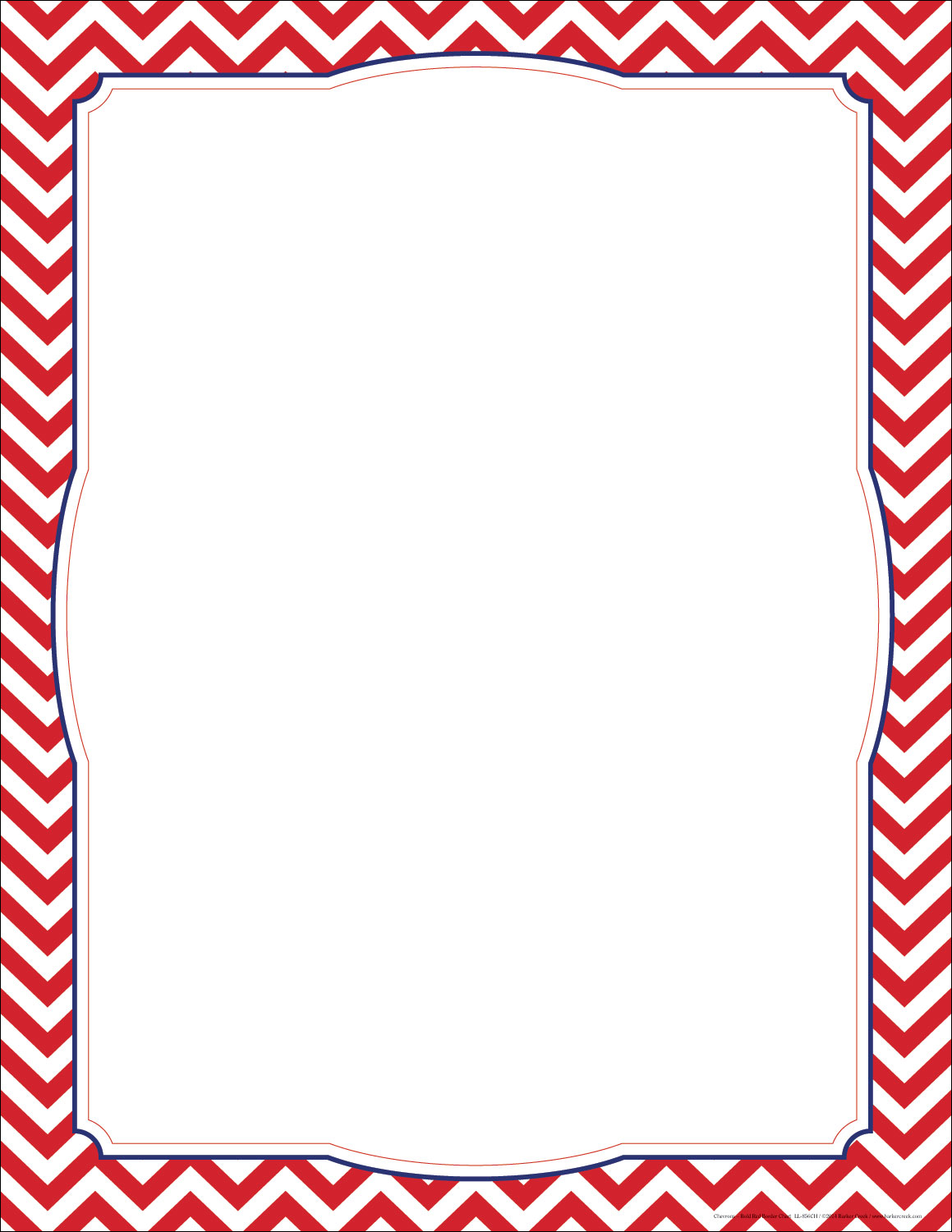 pink chevron border template
