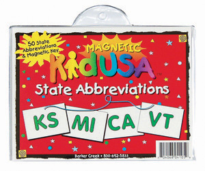 KidUSA State Abbreviations picture