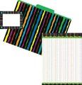 Get Organized! Neon Stripes