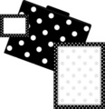 Get Organized! Black Dots