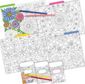 NEW! Folder/Pocket Set - Color Me! In My Garden