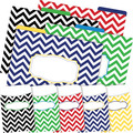 NEW! Folder/Pocket Set - Chevron Nautical