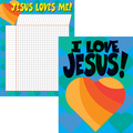 Jesus Loves Me Chart Set
