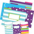 NEW! Folder/Pocket Set - Happy