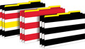 NEW! Wide Stripes Legal-Size File Folders