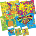 NEW! Folder/Pocket Set -  Bohemian Animals