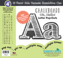 "NEW!! 4"" Chalkboard Letter Pop-Outs"