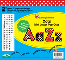 "Dots 2"" Letter Pop-Outs"