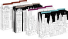 NEW!!  Color Me! Cityscapes File Folders