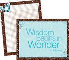 Wisdom & Wonder Chart Set