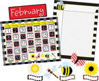 NEW! Get it All!  Buffalo Plaid & Wide Stripes Calendar & Incentive Chart Set