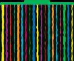 Neon Stripe File Folders
