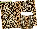 NEW! Folder/Pocket Set - Leopard