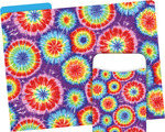 NEW! Folder/Pocket Set - Tie Dye