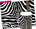 NEW! Folder/Pocket Set - Zebra
