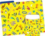 NEW! Folder/Pocket Set - ABC Animals