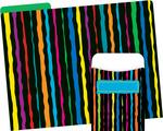 NEW! Folder/Pocket Set - Neon Stripe