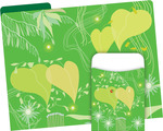 NEW! Folder/Pocket Set - Go Green