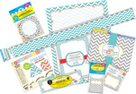 Chevron Beautiful Designer Classroom Set