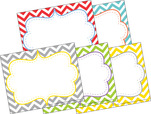 Chevron - Beautiful Name Tags