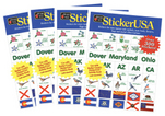 StickerUSA Sticker Book - 4 Pk