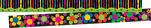 Neon Stripe Border