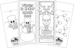 Celebrate Winter Bookmark Duet