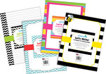 NEW! Paper Set - Chevron & Stripes