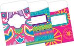 NEW! Peel & Stick - Bohemian Library Pockets