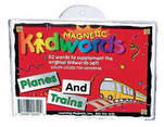 Magnetic Kidwords™ Planes & Trains