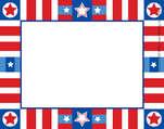 Americana Name Tag