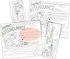 NEW! Color Me! Attendance Awards & Bookmarks Set