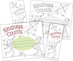 NEW! Color Me! Kindness Counts Awards & Bookmarks Set