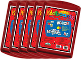 Learning Magnets® Red Kidboard 5-Pack