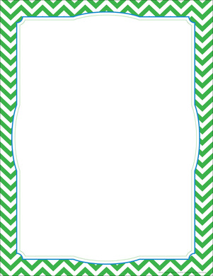 chevron green border chart barker creek free numbers clipart images number clipart free