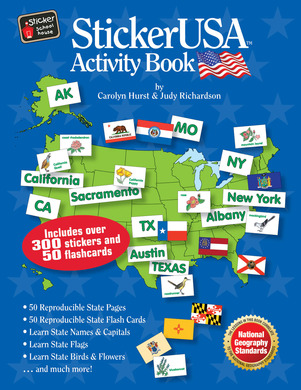 StickerUSA Activity Book picture