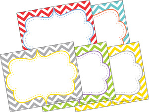 Chevron - Beautiful Name Tags picture