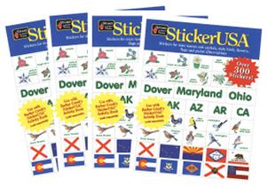 StickerUSA Sticker Book - 4 Pk picture