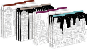 NEW!!  Color Me! Cityscapes File Folders picture