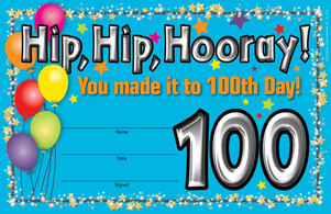 100th Day Award picture