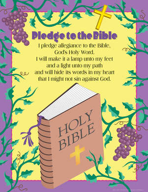 Pledge to the Bible Chart - Barker Creek