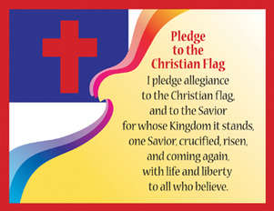 Pledge to the Christian Flag Chart picture