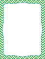 Chevron - Green Border Chart