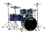 PDCM2216BL - PDP CONCEPT MAPLE - BLUE SPARKLE -CHROME HW 6 PCS